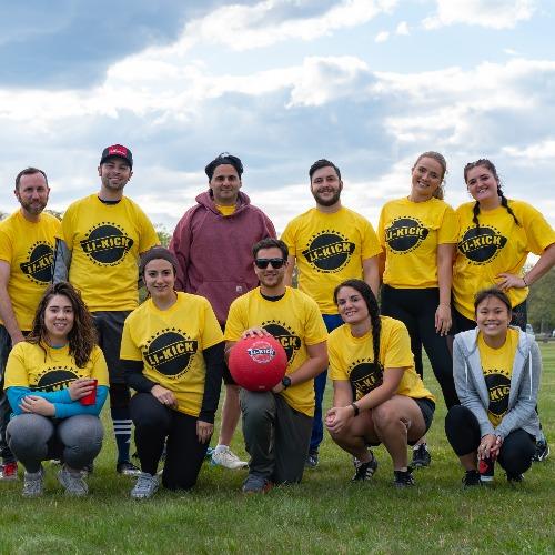 Grabbing life by the kickballs