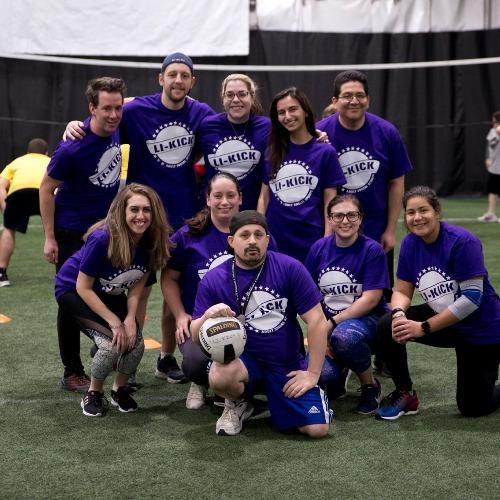 Purple Volley Eaters